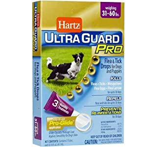 Hartz UltraGuard Pro Flea Tick Drops for Dogs 3160 lbs