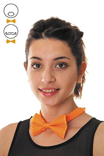 Party Pro- Nœud Papillon, Unisex-Adult, 33311, Orange, Taille Unique