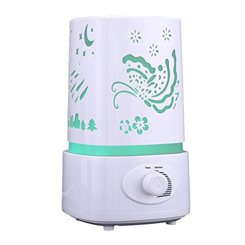 YHG Aroma Diffuser Aromatherapie Ultraschall ätherisches Öl Luftbefeuchter LED-Licht