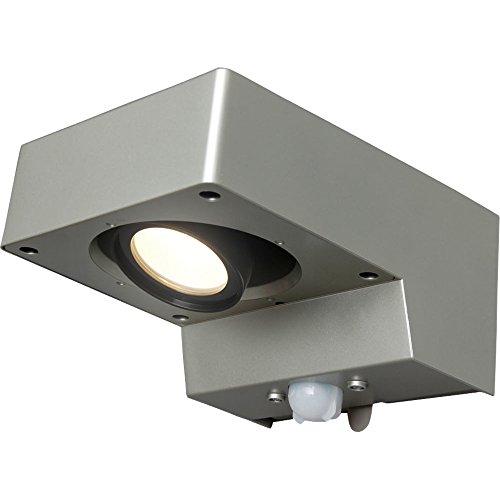 アイリスオーヤマ 屋外センサーライト スポット灯 電球色 BOS-SL1-WS