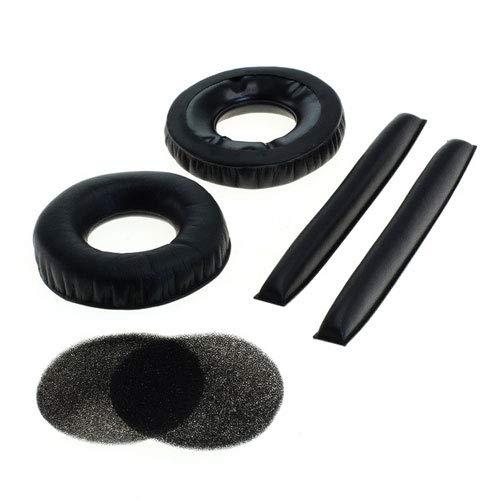 Almohadillas Cascos de sustitución para Cascos de 65mm - Compatible con Sennheiser HD 25, HD 25-1, HD 25-1 II, PC 150, PC 151, PC 155