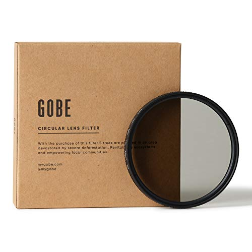 Gobe 62 mm Polfilter (Polarisationsfilter) CPL (2Peak)