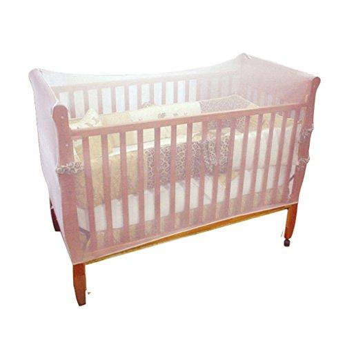 Amazemarket Baby Moskitonetz zum Pack n Spiele Laufgitter Kinderwagen Krippen Insekt Mesh-Netz Schlafen Bett Zubehör (136*68*68CM)