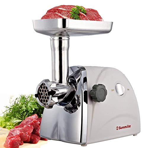 Sunmile SM-G31 Electric Meat Grinder - Max 1HP 800W- ETL Meat...