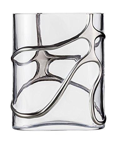 Eisch - Vase Stargate klein Platin