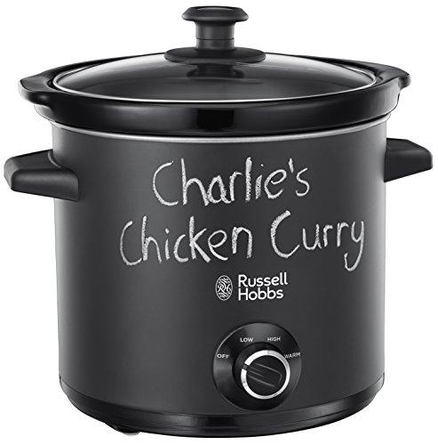 Russell Hobbs 24180 Chalkboard Slow Cooker, 3.5L