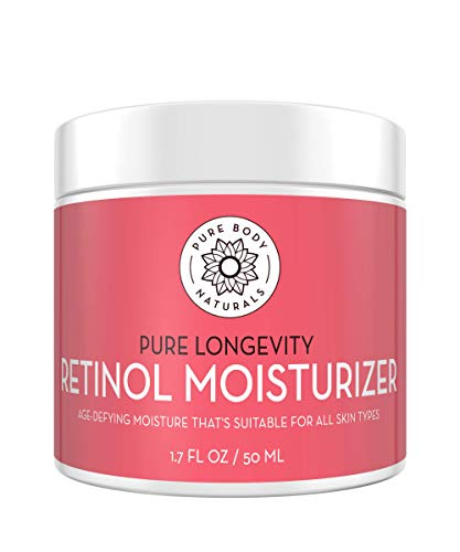 Moisturizing Retinol Cream for Face, Age Defying Eye Cream for Wrinkles and Lines with Hyaluronic...