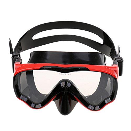 FLAMEER Jugend Tauchen Maske Anti Fog Gehärtetes Glas Schwimmen Schnorchelbrillen