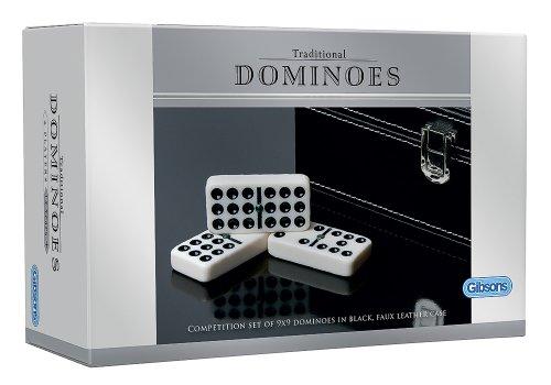 Gibsons Dominoes G320 - Juego de dominó Doble 9