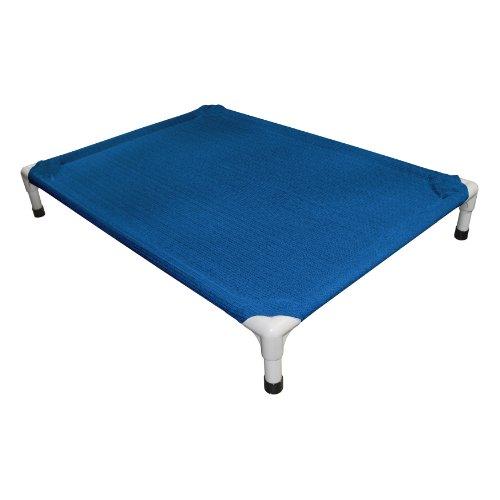 Coolaroo klein Aluminium Pet Bett, Aquatic Blau