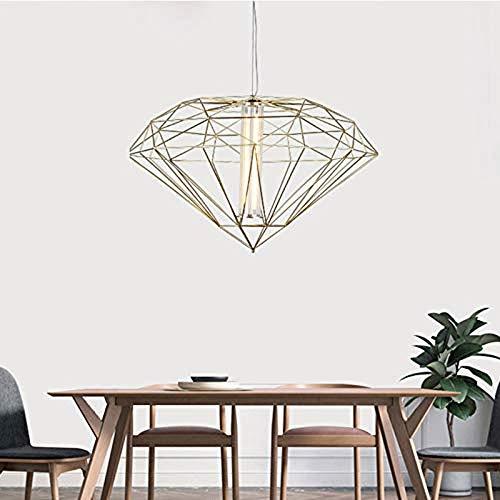 Iluminación de Cocina para el hogar Colgante Araña de metal, y de metal caliente de la lámpara, Nordic creativa moderna minimalista LED de la lámpara de iluminación del restaurante del dormitorio del