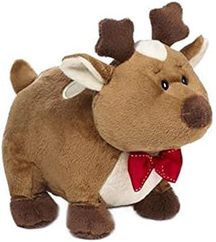 braun Rennie the Reindeer Holiday Plush by Ganz by 9.5  RENNIE REINDEER