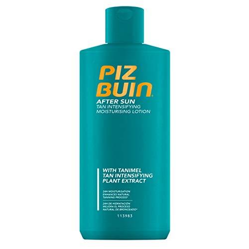 Piz Buin After Sun Tan Intensifier Lotion, schnell einziehende Bräunungsbeschleuniger Bodylotion, spendet 24h Feuchtigkeit (1 x 200 ml)
