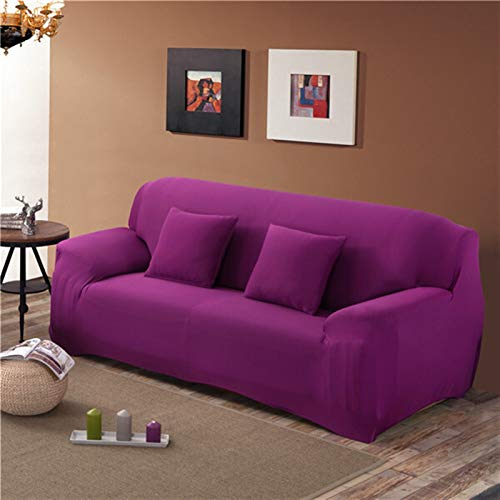 kengbi Easy To Install And Comfortable Sofa Cover Sofa Cover,Solid Color Elastic Sofa Cover For Living Room Universal Stretch L-style Sectional Corner Sofa Couch Cover Slipcovers 23 Colors