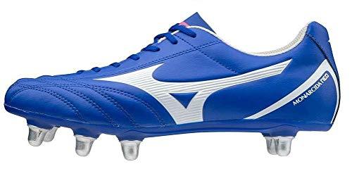 Mizuno Monarcida Neo Rugby SI, Botas Hombre, Reflex Blue C/White, 44 EU