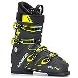 LANGE SX 100 Botas de Esquí, Hombre, Anthracite/Amarillo, 28.5