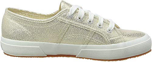 Superga Damen 2750 Lamew Sneakers, Gold (174), 39 EU