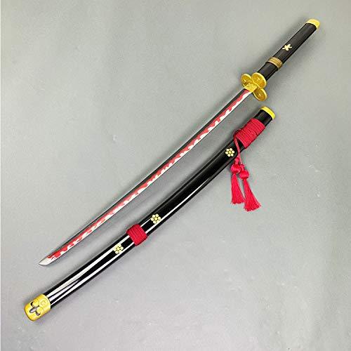 Otakumod Fantasy Roronoa Zoro Samura Metal Swords Katanas Props Replica. Zoro Sword-Carbon Steel Blade. for Fans