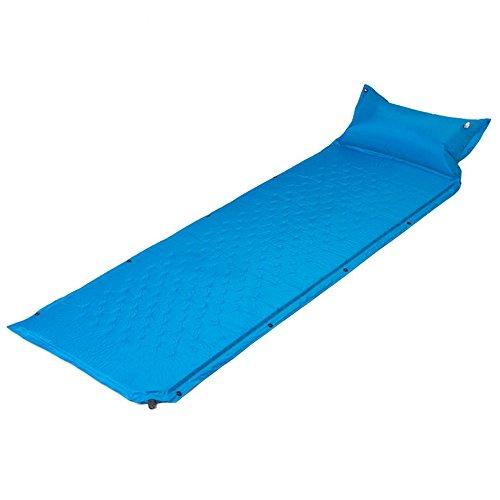 XY&CF Aufblasbare bett im freien automatische aufblasbare blätter können gespleißt aufblasbares bett camping feuchtigkeitsdichten aufblasbaren kissen 185 * 60 * 3 cm (Farbe : A)