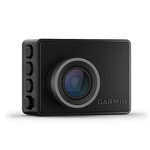 """Garmin Dash Cam 47 – kompakte Dashcam mit automatischer Unfallerkennung, 2"""" (5,1 cm) Farbdisplay, weitem 140° Bildwinkel, scharfen HD-Aufnahmen in 1080p und vernetzten Services für mehr Sicherheit"""