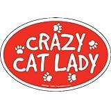 Prismatix Cat & Dog Magnets-Crazy Cat Lady (並行輸入品)