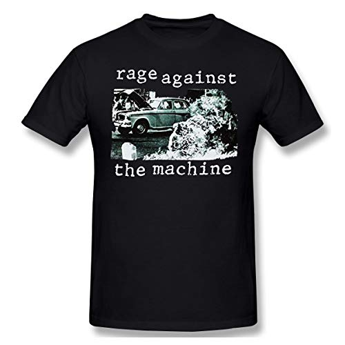 Gifetee Rage Against The Machine RATM 1992 Band Logo Herren Klassisch T Shirt Black XL