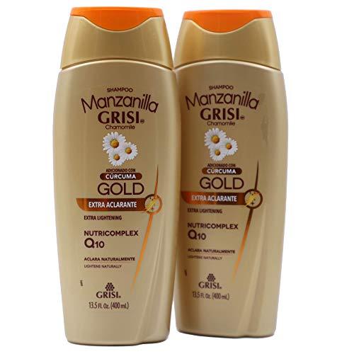 Grisi Manzanilla Gold, Extra Lightening Shampoo, Cleansing...