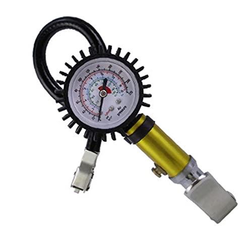 Inflado de probador, Indicador de presión de los neumáticos, los neumáticos del coche digital para inflar con aire del inspector, deflactor del barómetro, apto para coches,