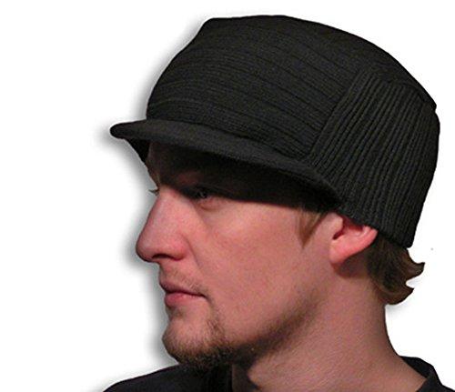 Raphia Art Wool style Casquette de la Bam – Noir délavé