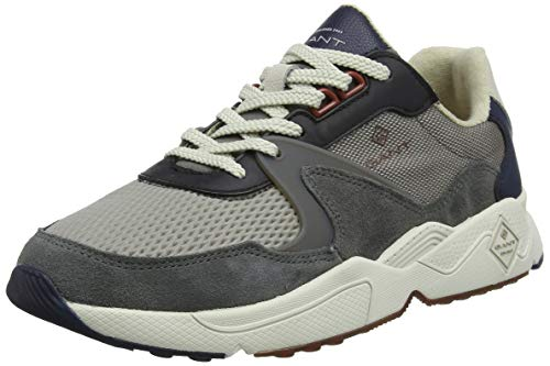 GANT FOOTWEAR PORTLAND, Herren Sneaker, Mehrfarbig (multi gray G882), 43 EU (9 UK)