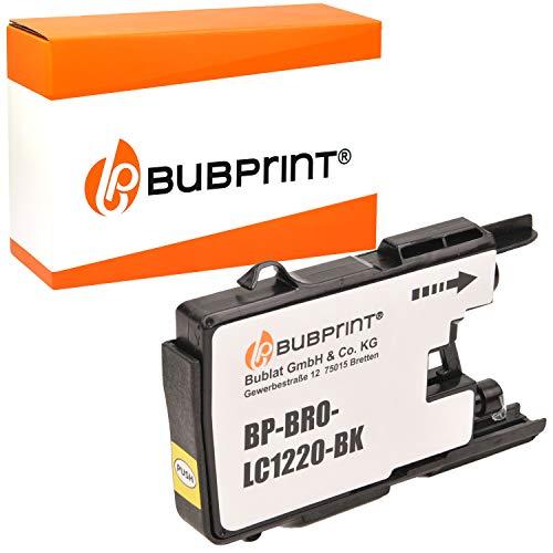 Bubprint Druckerpatrone kompatibel für Brother LC-1220 LC-1240 LC1220BK LC1240BK für MFC-J430W MFC-J5910DW MFC-J6510DW MFC-J6710DW MFC-J825DW Schwarz