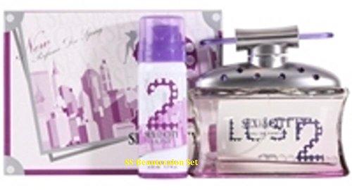 Sex In The City LUST 100 ml Eau de Parfum 50 ml & Deodarant Set de regalo