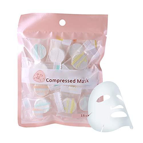 Máscara facial comprimida, cuidado de la piel 20Pcs / Pack