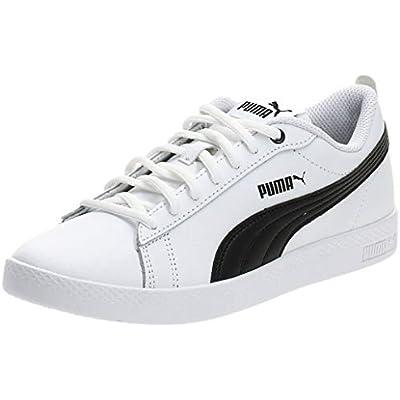 PUMA Smash Wns V2 L, Zapatillas Mujer, Blanco White Black, 38 EU