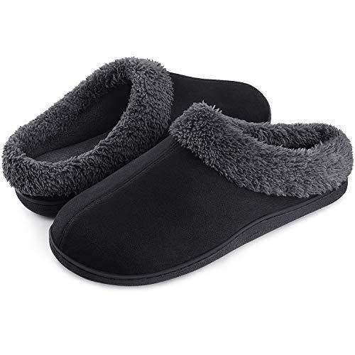 (50% OFF) Men's Cozy Memory Foam Slippers, Anti-Slip $12.50 – Coupon Code