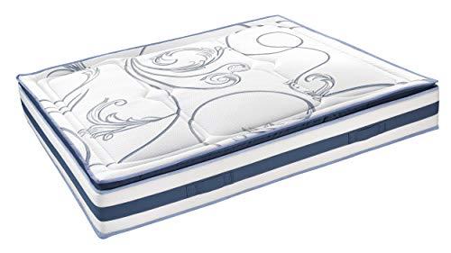 InHouse SRLS Matratze Made in Italy_5000 Federn Blumarine, Doppelbettmatratze 165 x...