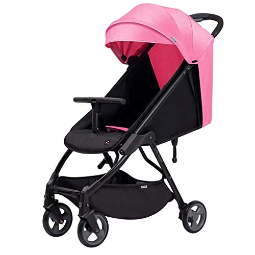 Learn More About Cozy Baby Stroller Carriage Compact Pram Stroller (Color : Blue) (Color : Pink)