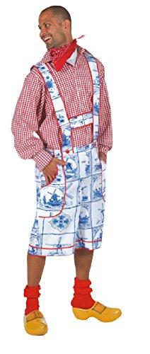 M210230-S Herren Holland Kostüm Holländer Trachtenhose Gr.S