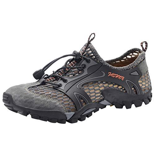XJWDNX Hommes en Plein Air Voyage Plongée Cordon Chaussures Respirant Chaussures De Sport Confortable Pantoufles Casual Écurie Chaussures