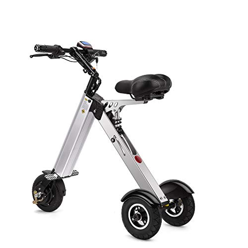 TopMate ES30 Electric Scooter Mini Tricycle, Key Switch 3 Gears, Rear Axle 12.6 Inch, for Mobility Assistance and Travel