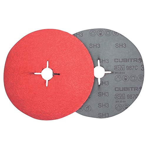 3M 68053000 Disco abrasivo Fibra 982C P060, 180 mm