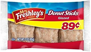 Mrs. Freshleys Donut Sticks, 3 Ounce -- 72 per case.