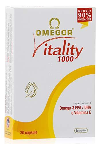 Omegor Vitality 1000 - 90% de Omega-3 TG, EPA 535...