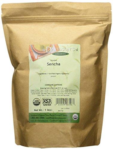 Davidson's Tea Bulk, Sencha, 16-Ounce Bag