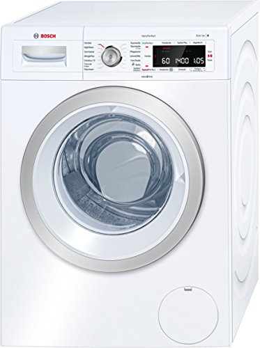 Bosch WAW28570 Serie 8 Waschmaschine Frontlader / A+++ / 196 kWh/Jahr / 1360 UpM / 8 kg / Weiß / Fleckenautomatik / Trommelreinigung mit Erinnerungsfunktion