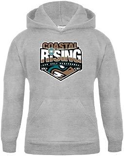 Coastal Carolina Youth Grey Fleece Hood 'Coastal Rising - Sun Belt Conference'