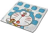 not applicable Toalla Cuadrada de Microfibra, con Doraemon Dorayaki Piel Suave de Frendly-Sudor Toalla de Cara Toalla de Mano Toalla-