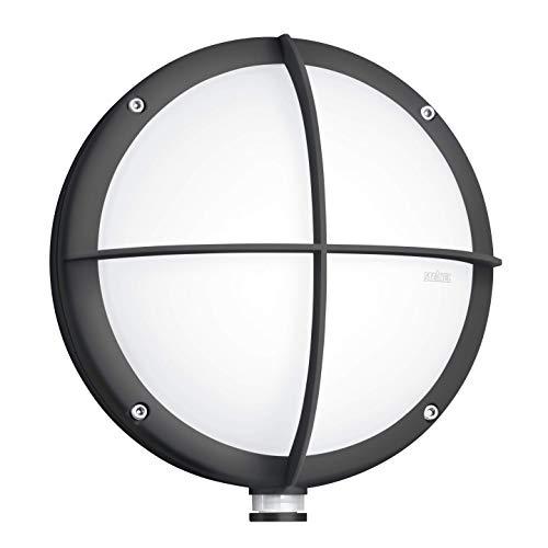 Steinel Außenleuchte L 331 LED, 9 W Wandleuchte, 360° Bewegungsmelder, 7 m Reichweite, schlagfest, bruchsicher