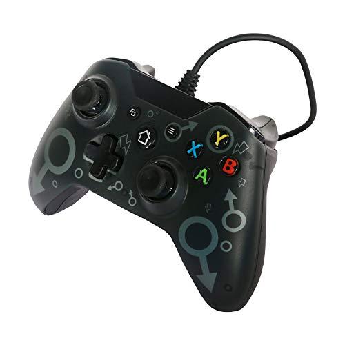 Manette Filaire Contrôleurs de Console de Jeucompatibles avec Xbox One, Xbox One S, Xbox One X, Windows PC