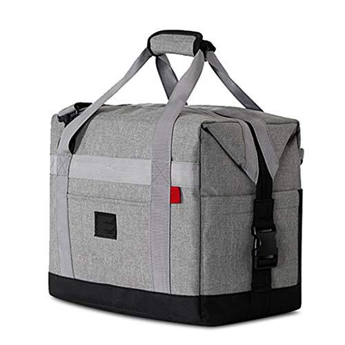 GYZ Déjeuner Cooler Sac de Grande Taille imperméable Isolation Lunch Bag Tissu Oxford Matière extérieure Sac de Pique-Nique, 2 Couleurs Peuvent Choisir Sac à Lunch (Color : B)